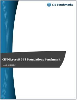 CIS Microsoft 365 Benchmark v1.1