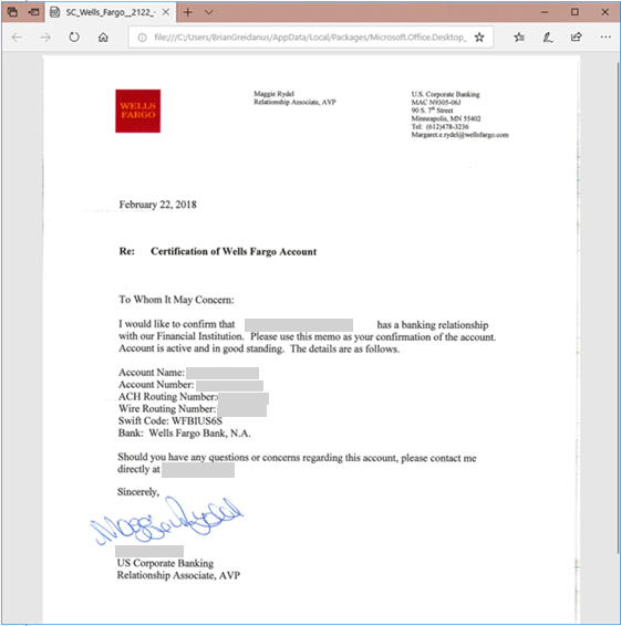 Financial Phishing via Compromised Office 365 Tenants & Phishing Domains